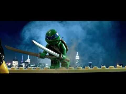 LEGO Черепашки ниндзя - Официальный трейлер (тизер)