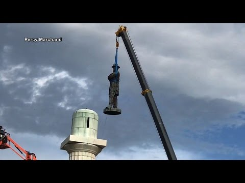 As Last Confederate Statue Is Removed in New Orleans, Will School Names & Street Signs Follow?