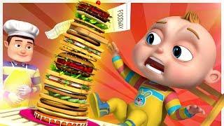 TooToo Boy - Sandwich Restaurant   Videogyan Kids Comedy Shows   Cartoon Animation For Children