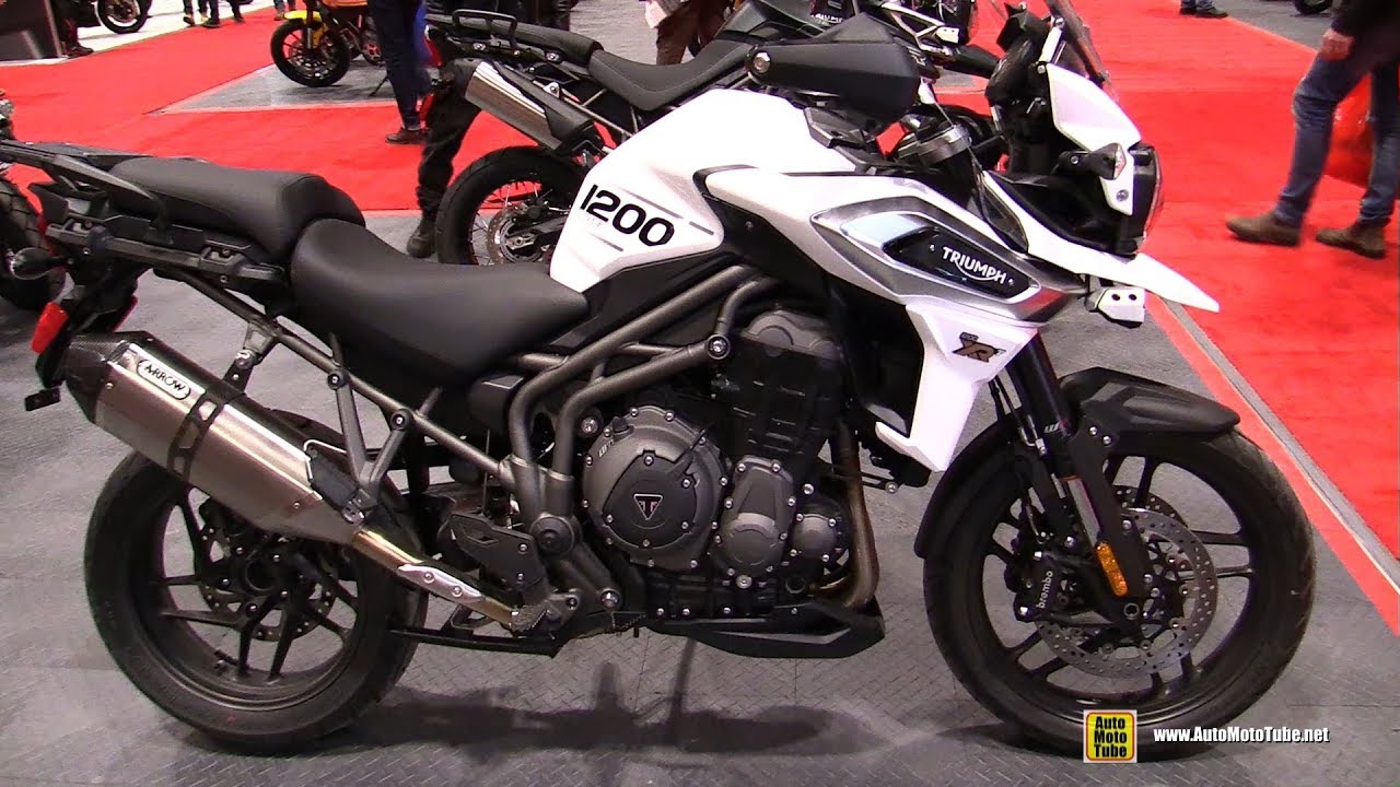 2020 Triumph Tiger 1200 XRT - Walkaround -- 2020 Toronto Motorcycle Show