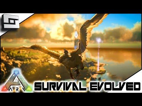 TAMING a 150 GRIFFIN! ARK: Survival Evolved -  E16 ( Ark Ragnarok Map )