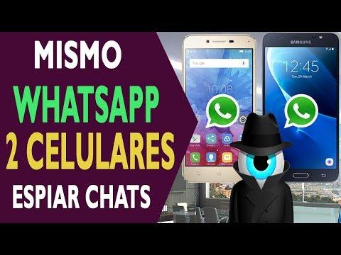 Instalar cuenta de WhatsApp en dos celulares al mismo tiempo