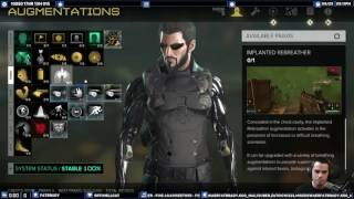 Deus Ex Mankind Divided - Tips n Tricks - Paxis Starter Build - Good Augs to get first