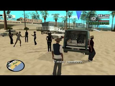 GTA - Minimal Skills 19 - San Andreas - (OG Loc mission 1): Life's a Beach
