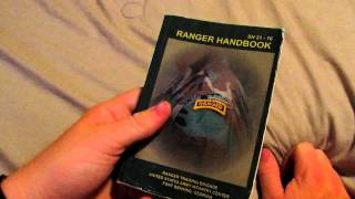New item for military collection! Rangers handbook