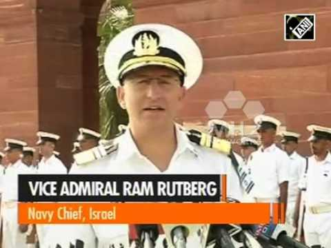 Israeli Navy Chief in India to meet top leadership (Aug 24, 2015)