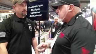 Krudo Knives at Shot Show 2017 Las Vegas with YOUR SIX LLC.