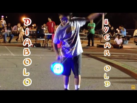 Amazing 11 Year Old Diabolo Chinese YoYo