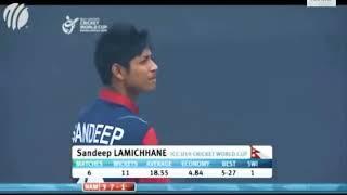 Sandeep Lamichhane Best Bowling