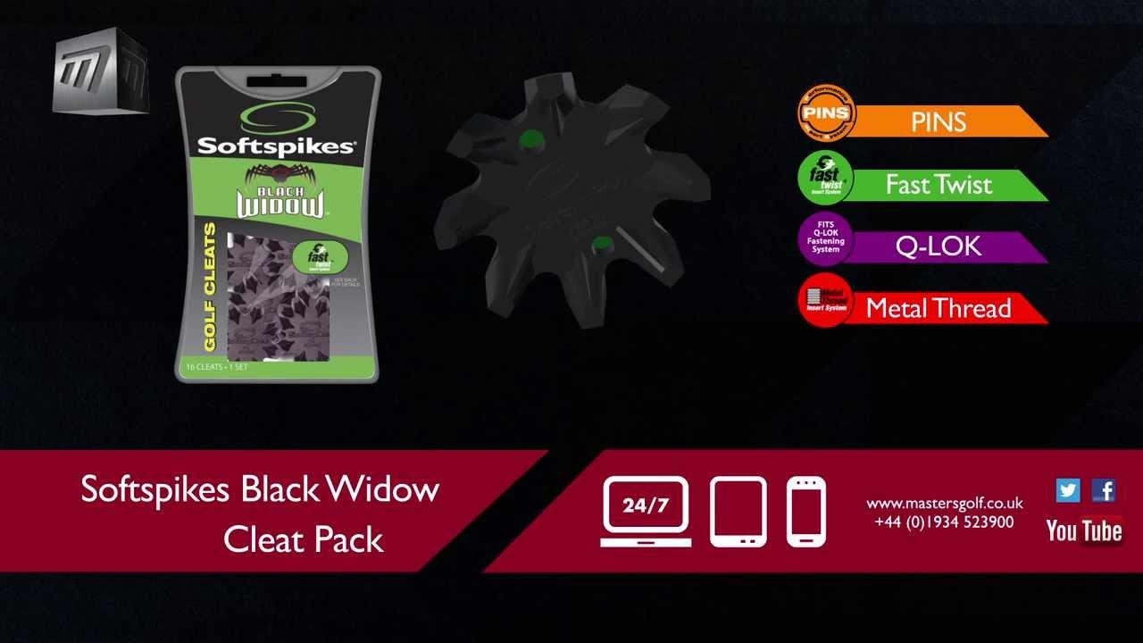 070ca2b37 Masters Golf - Black Widow Cleat Pack SASB15 SASB25 SASB30 SASB35 ...