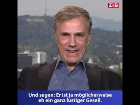 Zeit im Bild   Christoph Waltz ZIB Interview 11 11 16 english subtitles