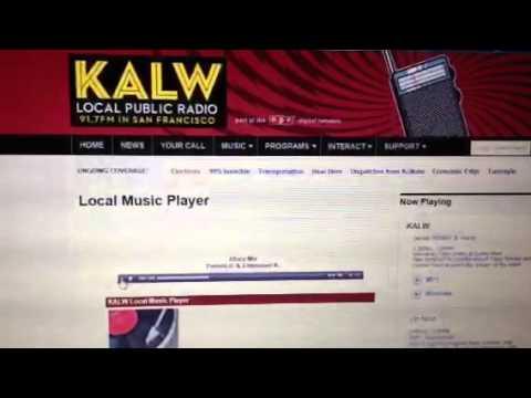 Apa Ne Apa played on public radio. KALW 91.7
