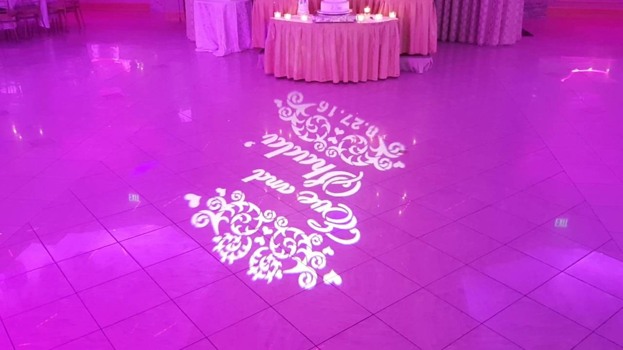 Gobo Monogram Rental from New York Sublime Events tel 718 744