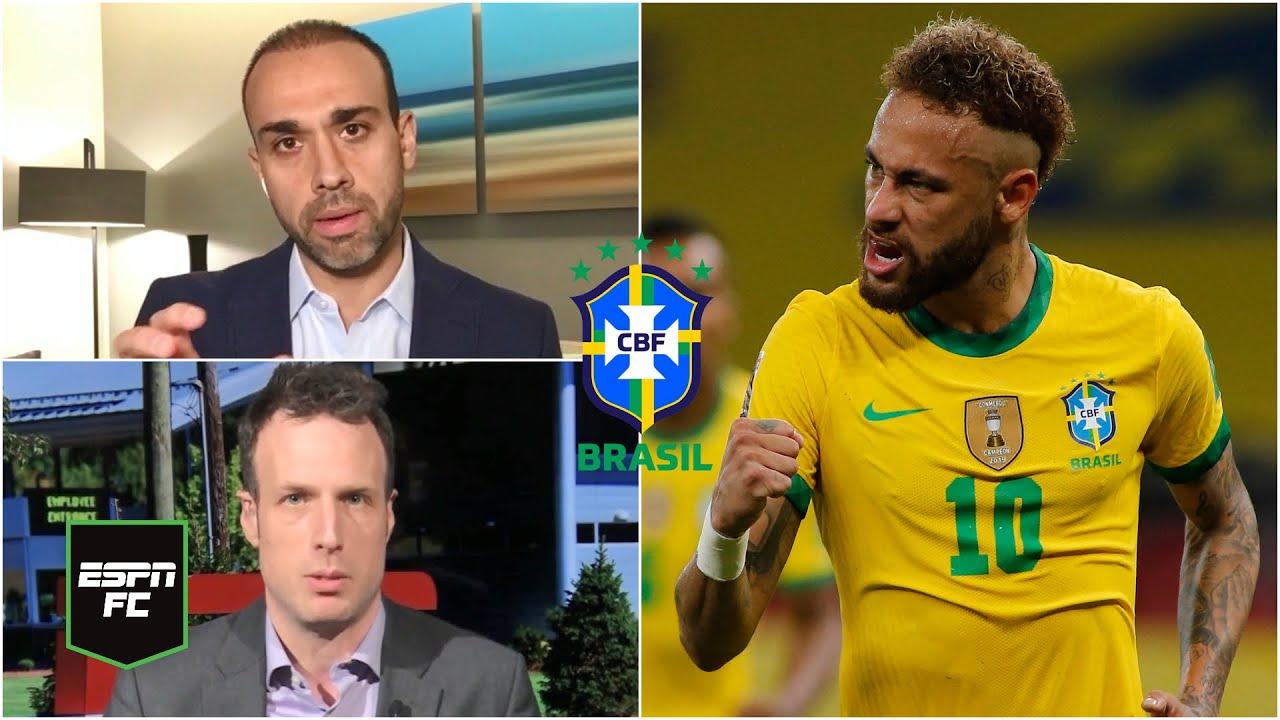 PRONÓSTICO Brasil FAVORITO para repetir en la Copa América. ¿Lo dejarán Messi y Argentina? | ESPN FC