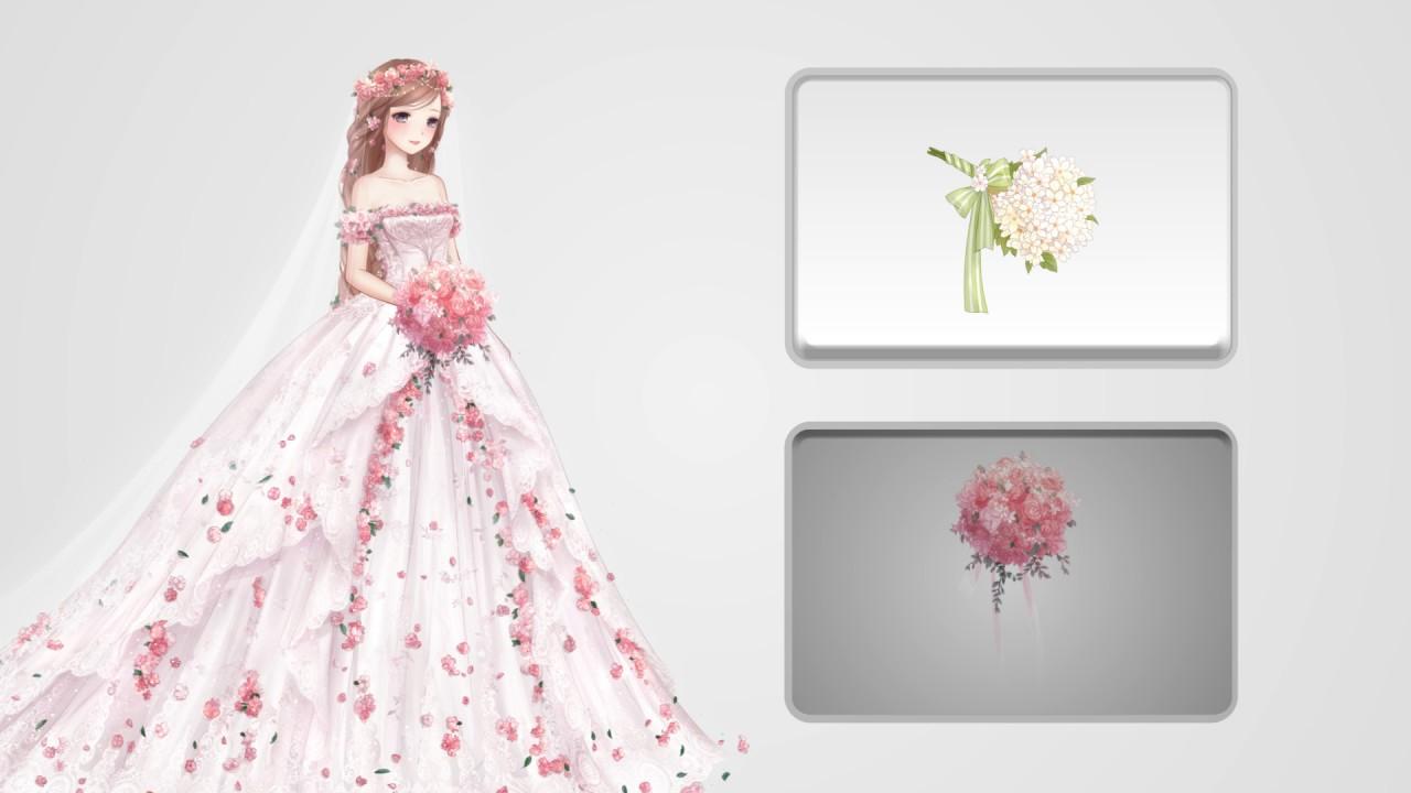 Love nikki dress up queen wedding gown youtube Wedding dress design love nikki