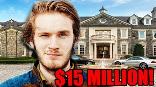 Top 10 RICHEST Youtubers of 2016! (Pewdiepie, RomanAtwood, Markiplier & More!)