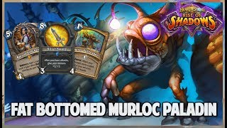 Fat Bottomed Murloc Paladin | Journey into Wild 155 | Hearthstone | Rise of Shadows