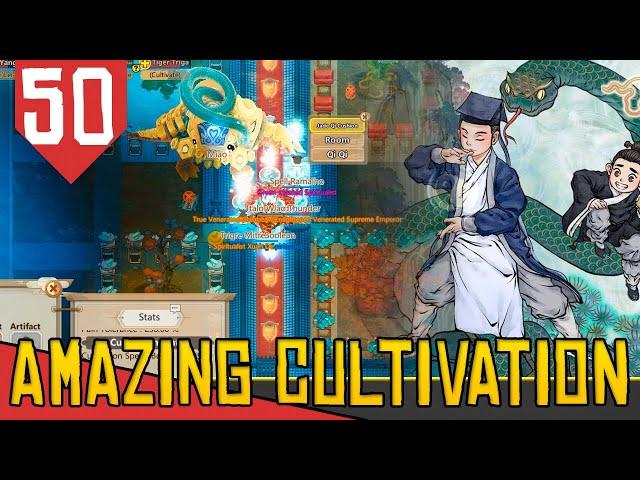 150 MILHÕES DE INSPIRAÇÃO em 4 DIAS - Amazing Cultivation Simulator Immortal #50 [Gameplay PT-BR]