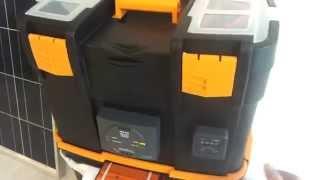 Impianto fotovoltaico portatile con zero euro.(Un sistema comodo ed efficiente per abbandonare i rumorosi e puzzolenti gruppi elettrogeni ed per avere sempre a disposizione energia elettrica., 2015-01-18T16:35:02.000Z)