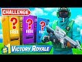 WINNING using *ONLY* VENDING MACHINES Challenge in Fortnite!