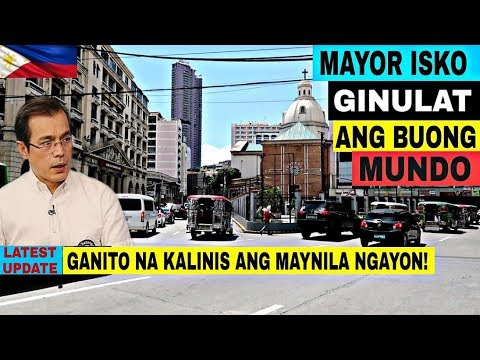 Ganito na kalinis ang Maynila ngayon | Carriedo, Sta. Cruz at Liwasang Bonifacio Maluwag na!