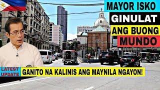Ganito na kalinis ang Maynila ngayon | Carriedo, Sta. Cruz a...