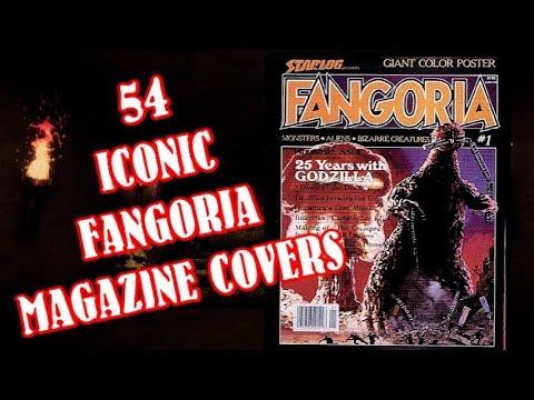 54 Iconic FANGORIA Horror Magazine Covers