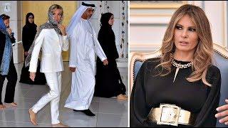 Как Брижит Макрон Уделала Меланью во Время Визита на Ближний Восток!