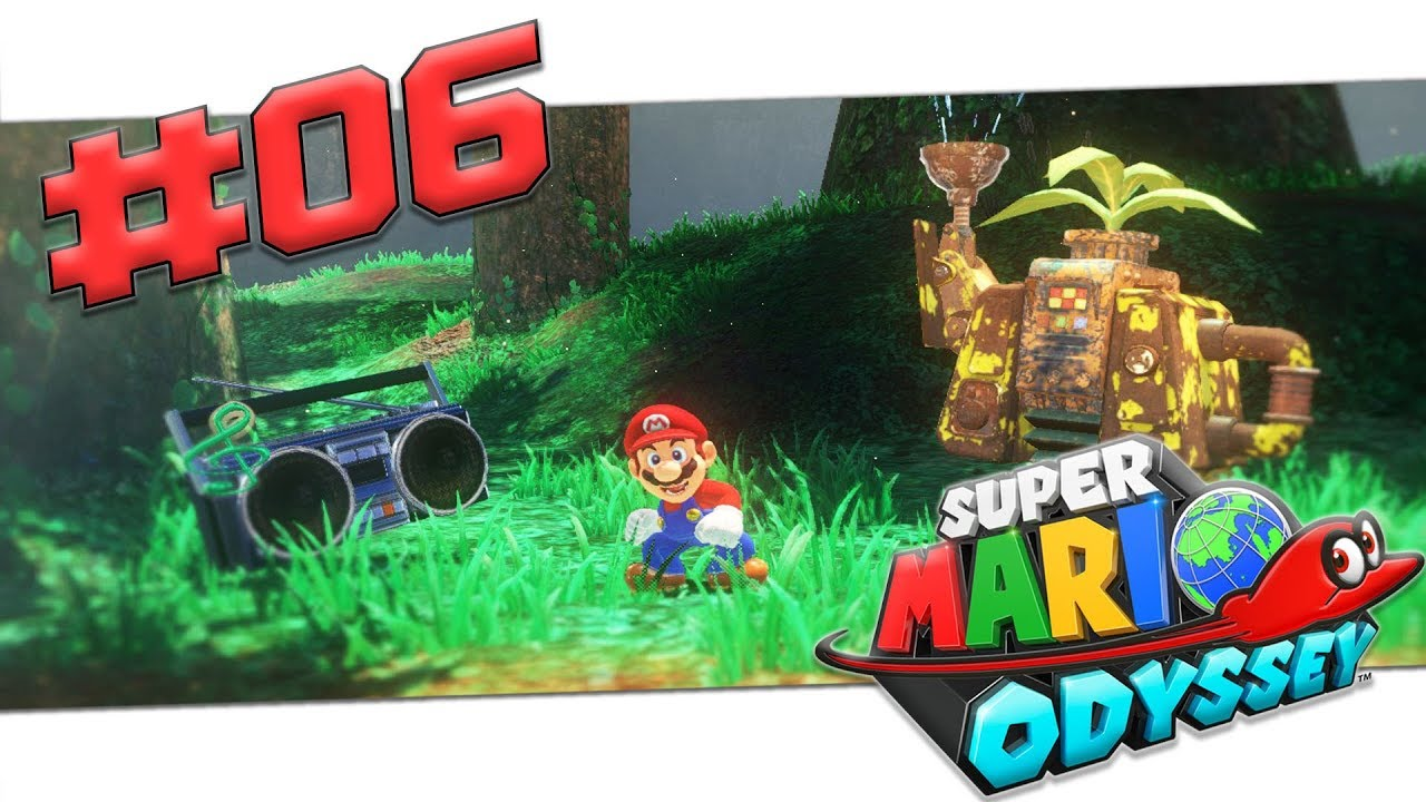 Super Mario Odyssey Welten
