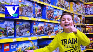 ★ VLOG Магазин игрушек: ЛЕГО СИТИ огромные конструкторы! LEGO CITY 2016 shopping(, 2016-03-06T03:07:42.000Z)