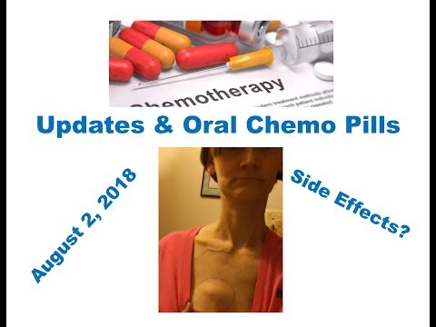 Updates & Oral Chemo Pills August 2,2018
