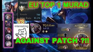 Aov: Top 1 Murad Against 5 Most Op Hero! The Best Murad Gameplay !aov /펜타스톰 / Ro