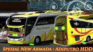 Ets2 || Trip bersama PO Senja Furnindo New Armada HDD