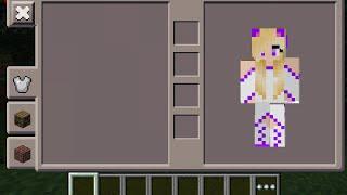 Minecraft PE - Angel Cat Girl Skin Costume + Download