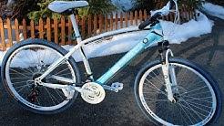 """21 vaihteinen maastopyörä  26"""" renkailla. Pyörän kokoaminen"""