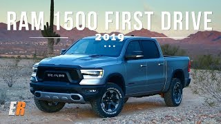 NEW - 2019 RAM 1500 First Drive Review - A Hybrid Truck? Really?