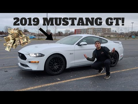 MY FRIEND BOUGHT A BRAND NEW 2019 FORD MUSTANG GT!