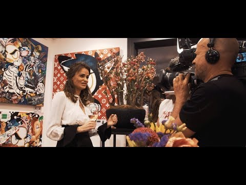 Loes van Delft opening exhibition Cobra Amsterdam