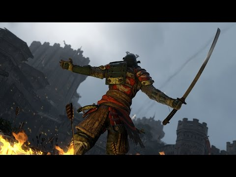 Трейлер Самураев - FOR HONOR
