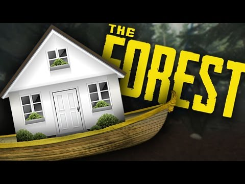 Download Youtube: The Forest Multiplayer V0.41 | Building A House Boat