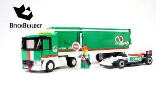Kijk Lego City 60025 Grand Prix Truck filmpje