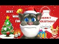 Funny Santa 🎅Song || Funny Talking Tom Hindi | Talking Tom Comedy Video