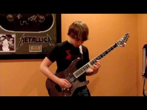 Metallica - My Friend of Misery Cover With Solo (Great Audio)