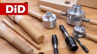 908. Drewniane śruby i gwinty - jak je zrobić i czym?