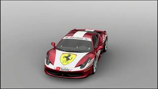 Gran Turismo®SPORT- Ferrari Italia 458- Livery Showcase