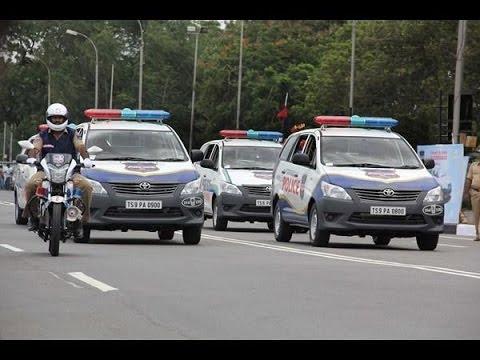 KCR Convoy | Telangana CM KCR Convoy in Hyderabad|Ivanka Trump