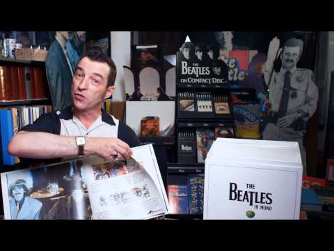 Pete Nash from The Beatles Fan Club Magazine Unboxes The Bea
