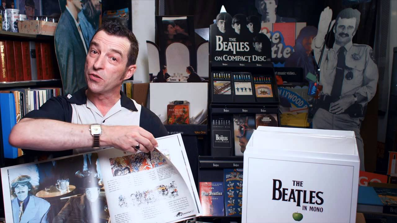 Pete Nash From The Beatles Fan Club Magazine Unboxes The