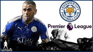 Islam Slimani • All 11 Goals for Leicester City • 2017 • The Algerian Tank • With Commentary