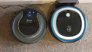 Hoover Rogue 970 vs. Shark Ion 750 - Which Robot Vacuum is Better?